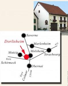 plaquette itineraire plan